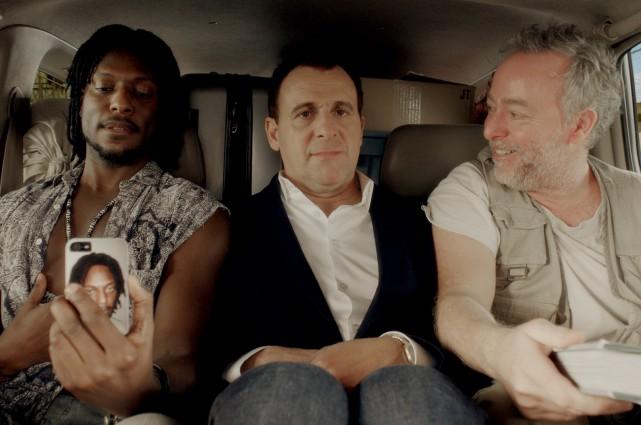 Gardy Fury, Patrick Huard et Guy Jodoin dans... (PHOTO FOURNIE PAR FILMS SÉVILLE)