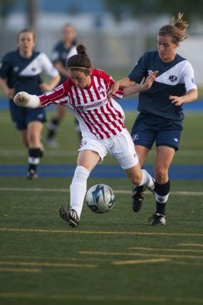 La formation féminine de soccer féminin AAA aurait... (Olivier Croteau)