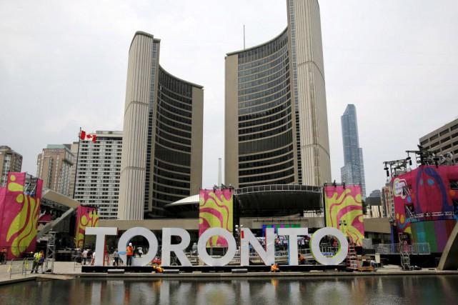 Les Jeux se déroulent à Toronto jusqu'au 26... (Photo Chris Helgren, Reuters)