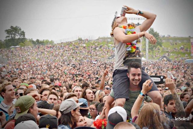 On a beau dire que c'est un festival... (Photo Le Soleil, Pascal Ratthé)