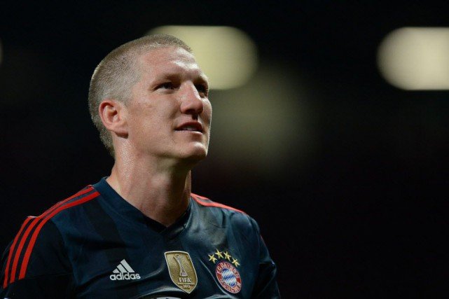 Bastian Schweinsteiger... (Photo ANDREW YATES, ARCHIVES AFP)