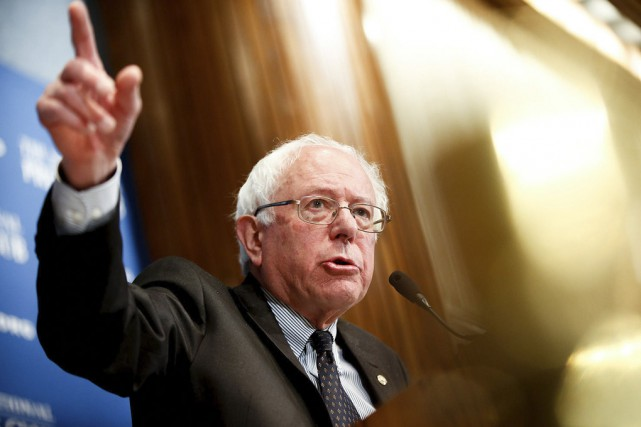 Bernie Sanders, candidat à l'investiture démocrate et seul... (photo Associated Press)