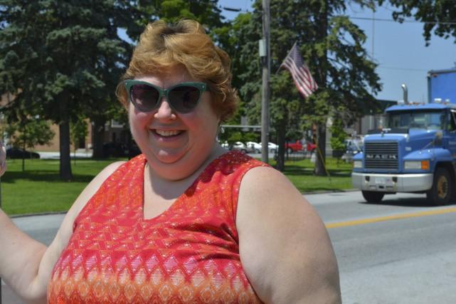 Christie Bruyette, une résidente de Swanton au Vermont,... (photo Maxime Massé)