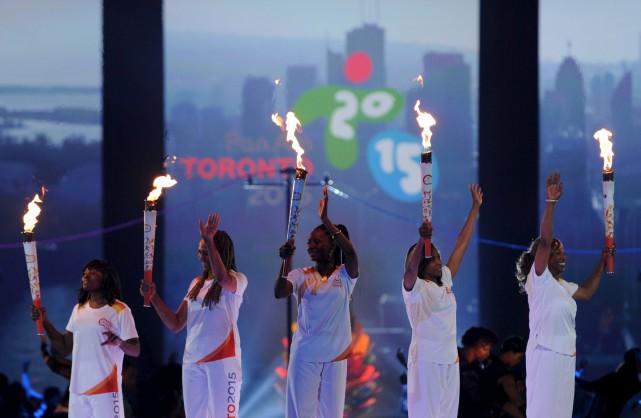 Amorcés dans l'ombre depuis mardi, les Jeux panaméricains ont officiellement... (PHOTO: PC)
