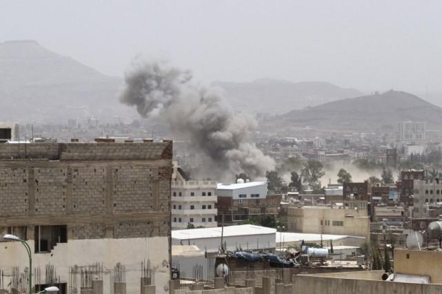 La coalition menée par l'Arabie saoudite n'avait fait... (Photo Mohamed al-Sayaghi, Reuters)