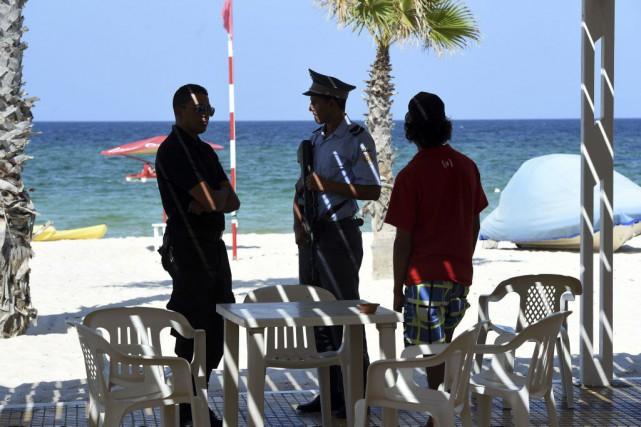 Huit personnes avaient déjà été arrêtées en lien... (PHOTO FETHI BELAID, AFP)