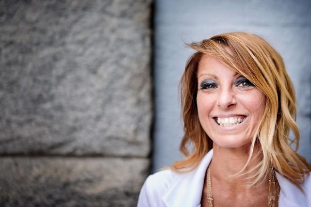 Le 3juillet dernier, Geneviève Côté a présenté son... (PHOTO MARCO CAMPANOZZI, LA PRESSE)