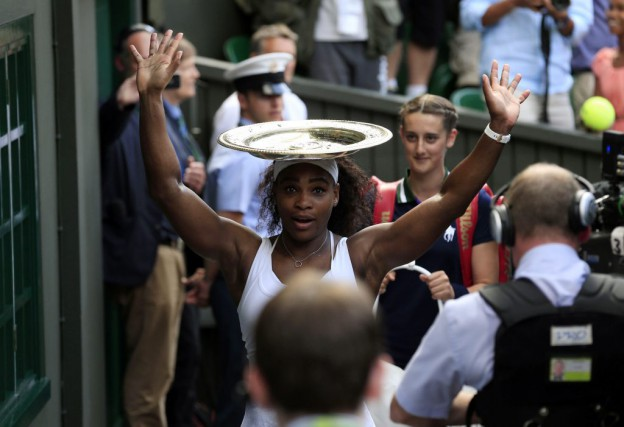 Serena Williams... (Photo AP, Jonathan Brady)
