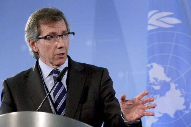 L'émissaire onusien pour la Libye, Bernardino Léon.... (Photo Michael Sohn, AP)
