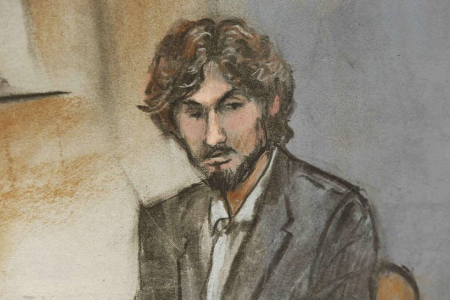 Djokhar Tsarnaev, 21 ans, a été condamné à... (Photo Jane Flavell Collins, archives Reuters)
