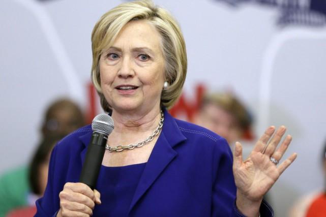 Au cours des dernières semaines, Hillary Clinton a... (Photo Charlie Neibergall, AP)