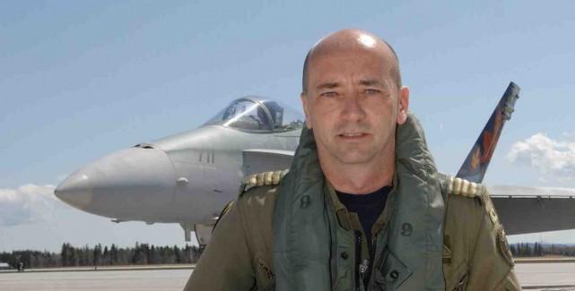 Le colonel Yvan Blondin en 2006 alors qu'il... (- Courtoisie)