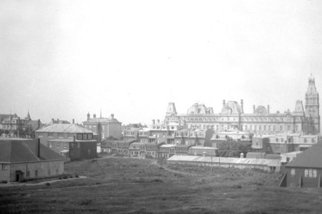 La colline parlementaire en 1907... (Burkewood Welbourn ©Musée McCord)