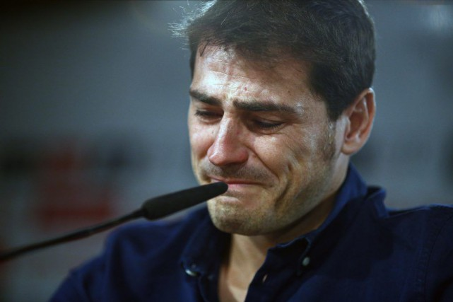 Iker Casillas... (Photo Oscar del Pozo, AP)