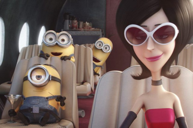 Minions... (PHOTO FOURNIE PAR UNIVERSAL PICTURES)