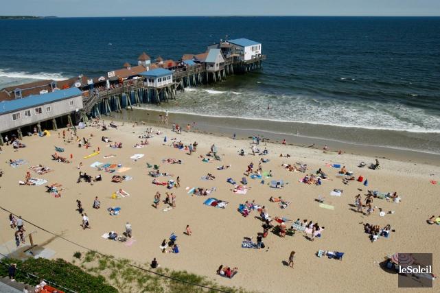 La plage d'OldOrchardBeach... (Photothèque Le Soleil, AP)