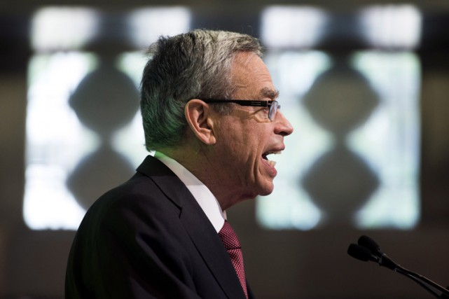Le ministre des Finances, Joe Oliver.... (PHOTO PC)
