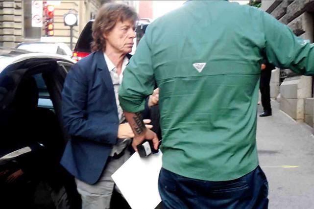 La bande de Mick Jagger est arrivée au... (Photo Marie-France Rémillard)