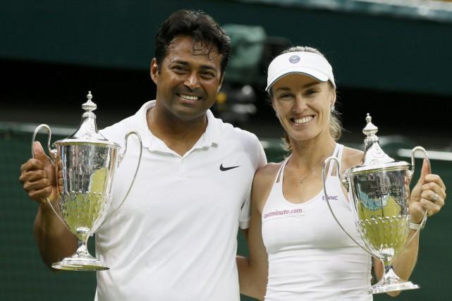 La Suissesse de 34 ans et son partenaire... (Reuters)