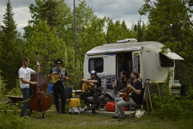 La caravane du Québec Redneck Bluegrass Project se... (Courtoisie Ma Ya Ya)