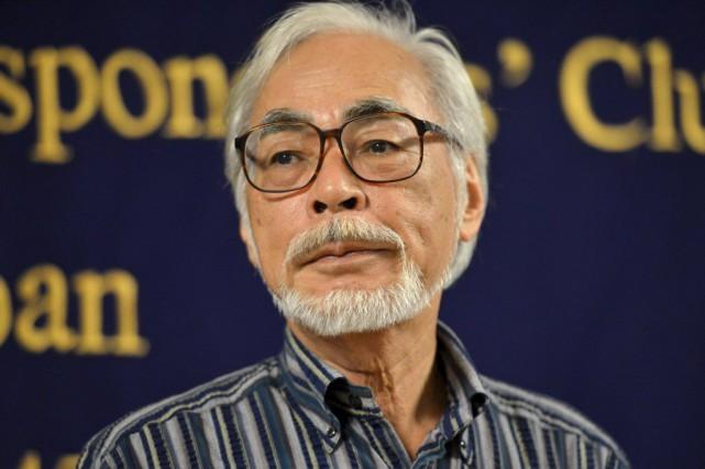 Hayao Miyazaki... (PHOTO AFP)