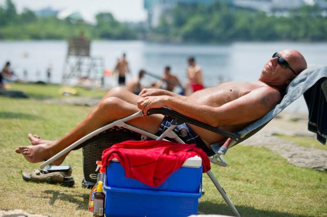 La chaleur devrait s'estomper quelque peu dès demain,... (Martin Roy, LeDroit)