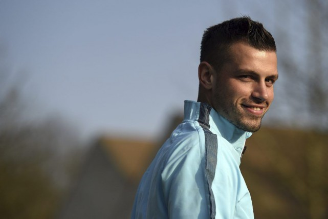 Morgan Schneiderlin... (PHOTO FRANCK FIFE, ARCHIVES AFP)