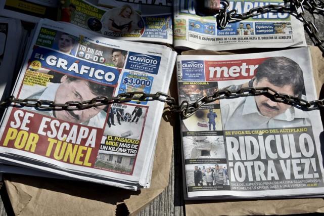 Les autorités américaines responsables de l'application des lois sur la drogue... (PHOTO AFP)