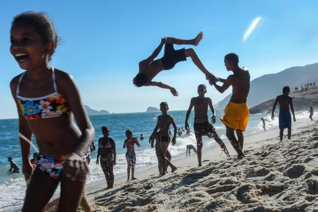 Le Brésil a malgré tout progressé en matière... (Photo Luiz Gustavo JUNIOR, archives AFP)