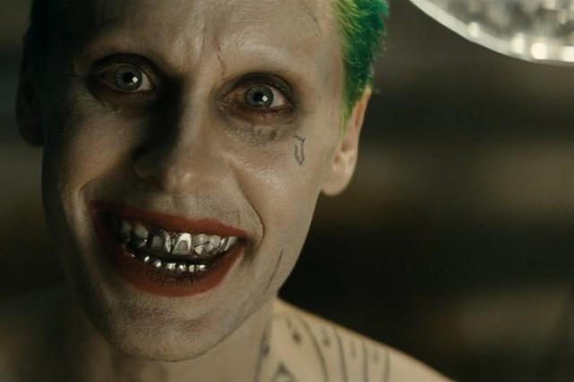 Jared Leto dans le rôle du Joker.... (IMAGE TIRÉE DE YOUTUBE)
