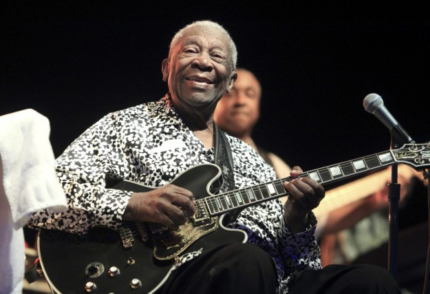 B.B. King à Baltimore en août 2013.... (ARCHIVES AP)