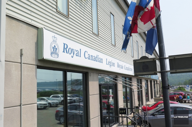 La Légion royale canadienne à Sherbrooke ferme ses portes. Même si elle compte... (Imacom, René Marquis)