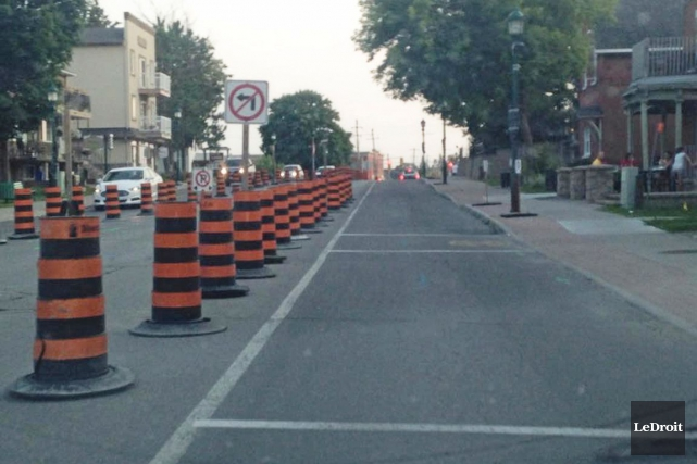 La Ville espère que les travaux seront terminés... (Martin Brunette, LeDroit)
