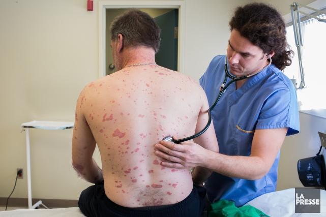 Il y a présentement un bris de service en dermatologie au Centre hospitalier... (Archives La Presse)