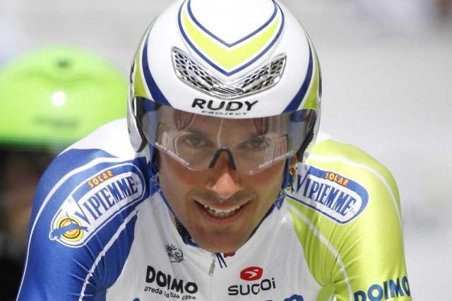 Double vainqueur du Tour d'Italie, Ivan Basso laisse... (Photo AFP)