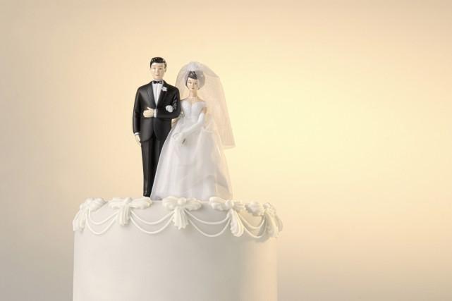 Si le mariage est moins fréquent que par... (Photo Digital/Thinkstock)