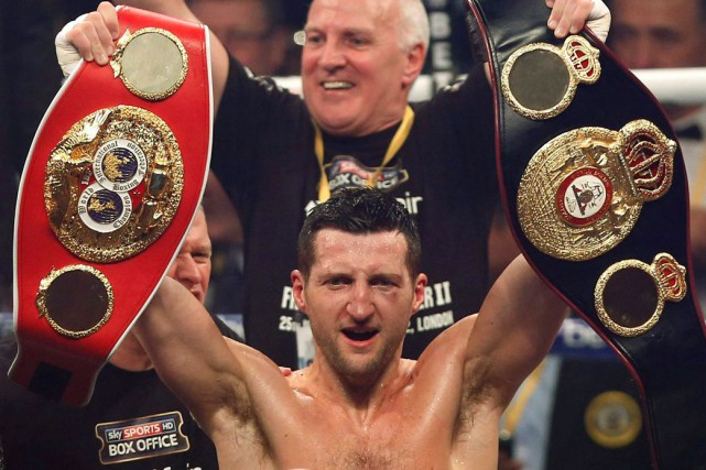 Carl Froch... (PHOTO SANG TAN, ARCHIVES AP)