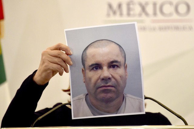 De nouveau en liberté, «El Chapo» pourrait rétablir... (PHOTO YURI CORTEZ, AFP)