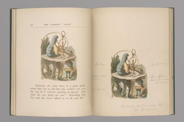 Alice Liddell a insisté auprès de Charles Lutwidge... (PHOTO FOURNIE PAR LA BIBLIOTHÈQUE-MUSÉE THE MORGAN)