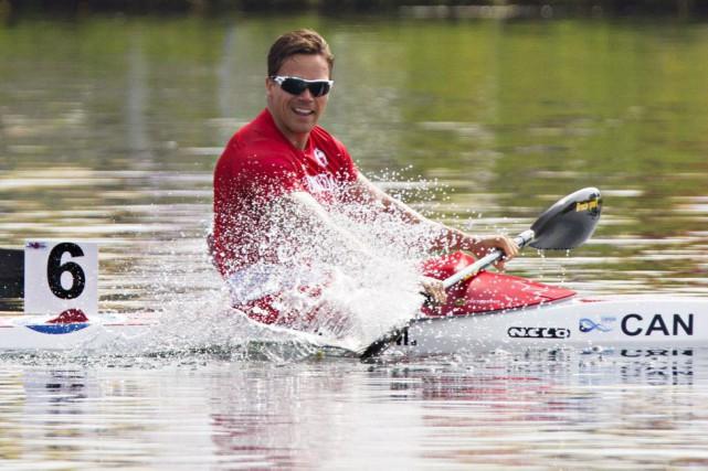 En canoë-kayak, l'unifolié a remporté cinq médailles, incluant... (PHOTO AARON LYNETT, LA PRESSE CANADIENNE)