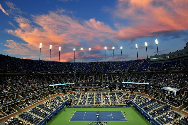 Le stade Arthur Ashe.... (PHOTO STAN HONDA, ARCHIVES AGENCE FRANCE-PRESSE)