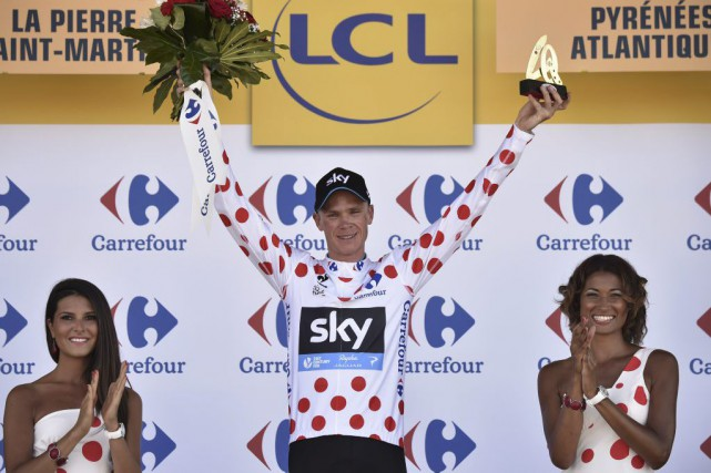 Chris Froome... (PHOTO ERIC FEFERBERG, AGENCE FRANCE-PRESSE)