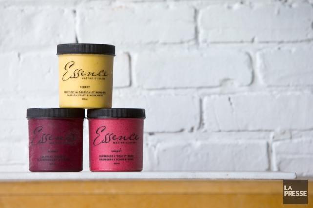 Essence propose 10 saveurs de sorbets et 7... (Photo Patrick Sanfaçon, La Presse)