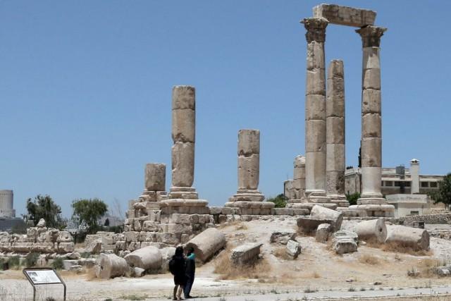 La Jordanie est réputée pour ses splendides vestiges,... (PHOTO KHALIL MAZRAAWI, AFP)