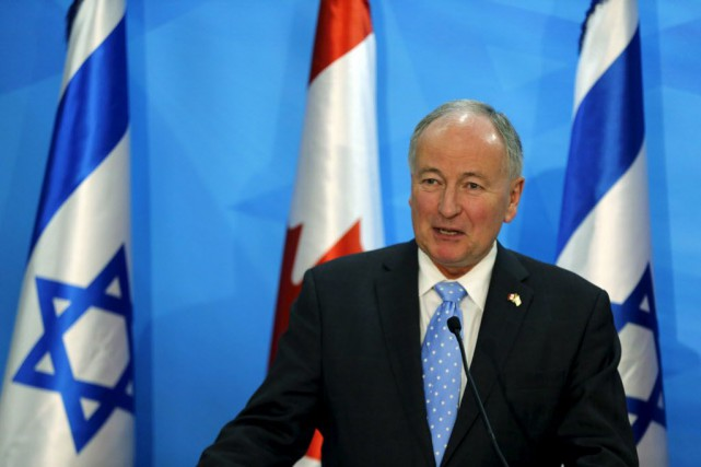 Le ministre des Affaires étrangères, Rob Nicholson.... (Photo Ammar Awad, archives Reuters)
