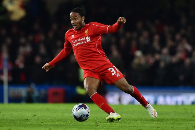 Raheem Sterling... (Photo BEN STANSALL, AFP)