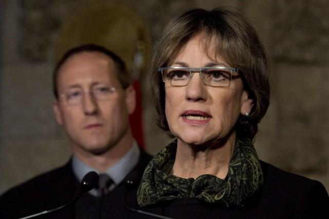 La ministre d'État aux Affaires étrangères et consulaires,... (Photo Adrian Wyld, La Presse canadienne)