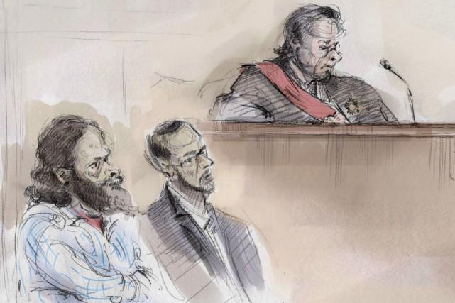 RaedJaser et ChihebEsseghaier ont été reconnus coupables sous... (ARCHIVES PC)