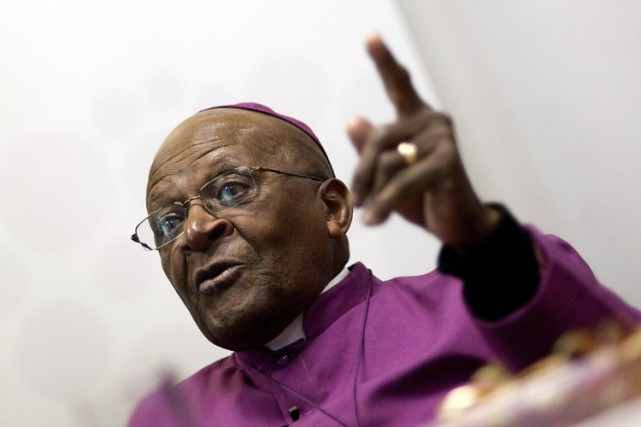 Desmond Tutu... (PHOTO ARCHIVES AFP)