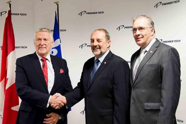 Bernard Bélanger, président du conseil et chef de... (Photo fournie par Premier Tech)